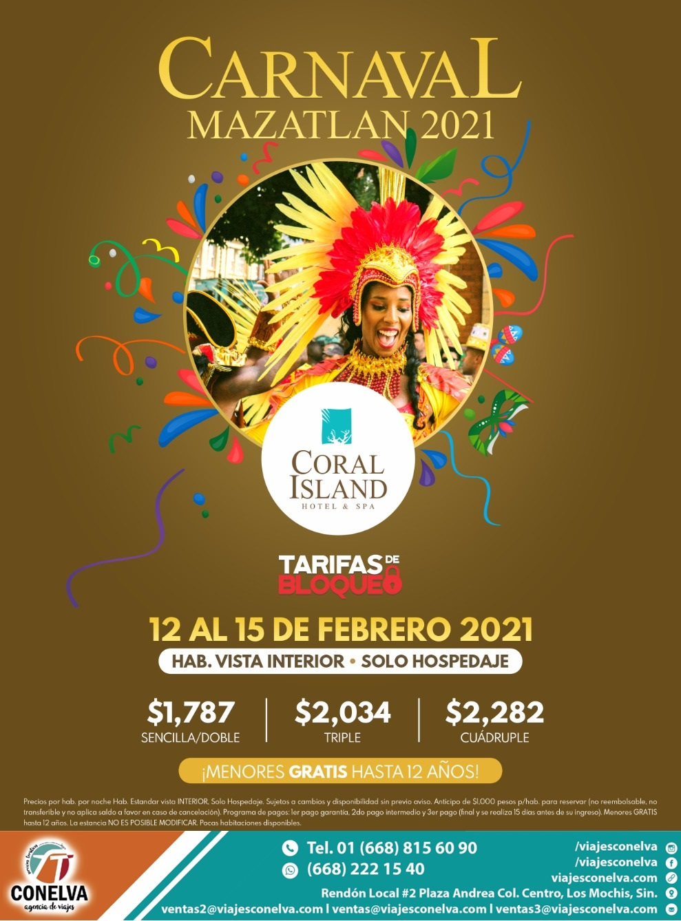 coral island carnaval
